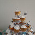 Cupcakes met vanille toef