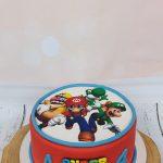 Mario verjaardagstaart