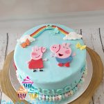 Peppa big taart 1